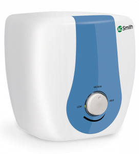 HSE SDS Flip Water Heater - Blue - Front view